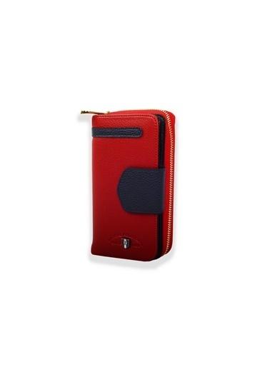 Pascal Polo Clutch / El Çantası Kırmızı